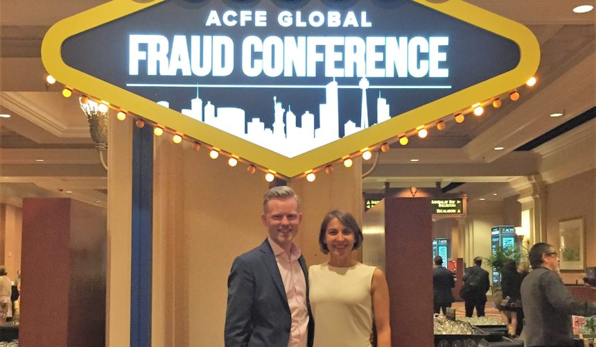 ACFE DK participation in 29th ACFE Global Conference, Las Vegas