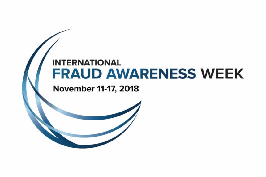ACFE DK supports the 2018 International Fraud Awareness Week
